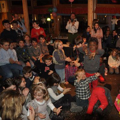festa per bambini compleanno ristorante celerina